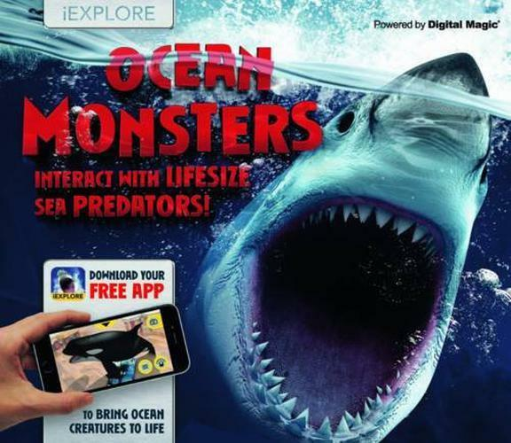 Iexplore - Océan Monsters (Not Trouvé) par Davies,Nicola,Neuf Livre ,Gratuit & D