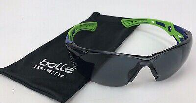 BOLLE SAFETY Safety Glasses,Smoke 40257