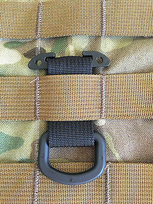 Military Tactical T-ring Adaptor for Molle Pals Webbing tring OCP Multicam