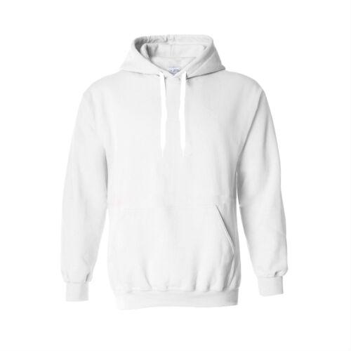 Felpa con cappuccio nuova linea uomo Sudore Camicia Bianca Uomo Abbigliamento Casual Work Wear Top XL Tinta Unita in Pile