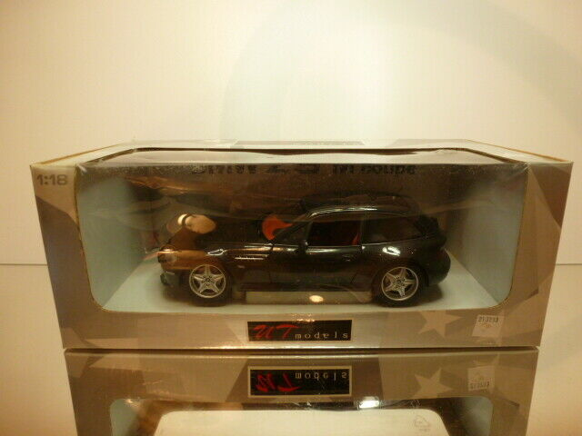 UT ModelllS 20432 BMW Z3 M COUPE - schwarz METALLIC 1 18  - EXCELLENT IN  BOX