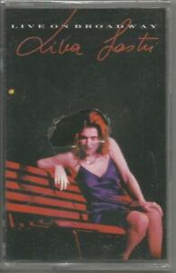 LINA-SASTRI-Live-on-broadway-MC-MUSICASSETTA-1992-SIGILLATA-SEALED