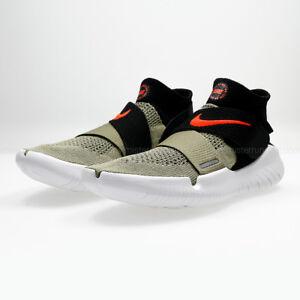 674bb2787938 Nike Free RN Motion Flyknit 2018   942840 200 Olive Crimson Men SZ ...