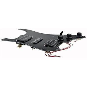 hsh loaded pick guards pickguard black wired plate for. Black Bedroom Furniture Sets. Home Design Ideas