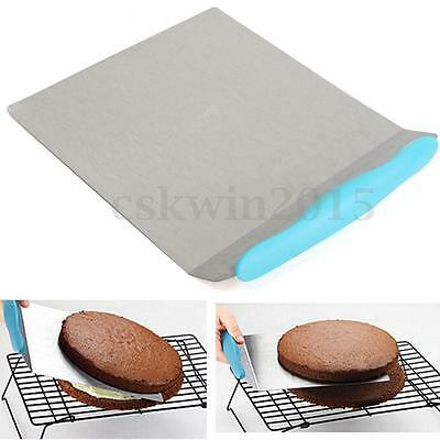 Stainless Steel Cake Lifter 24cm Large Stainless Steel Cake Lifter Moving Plate