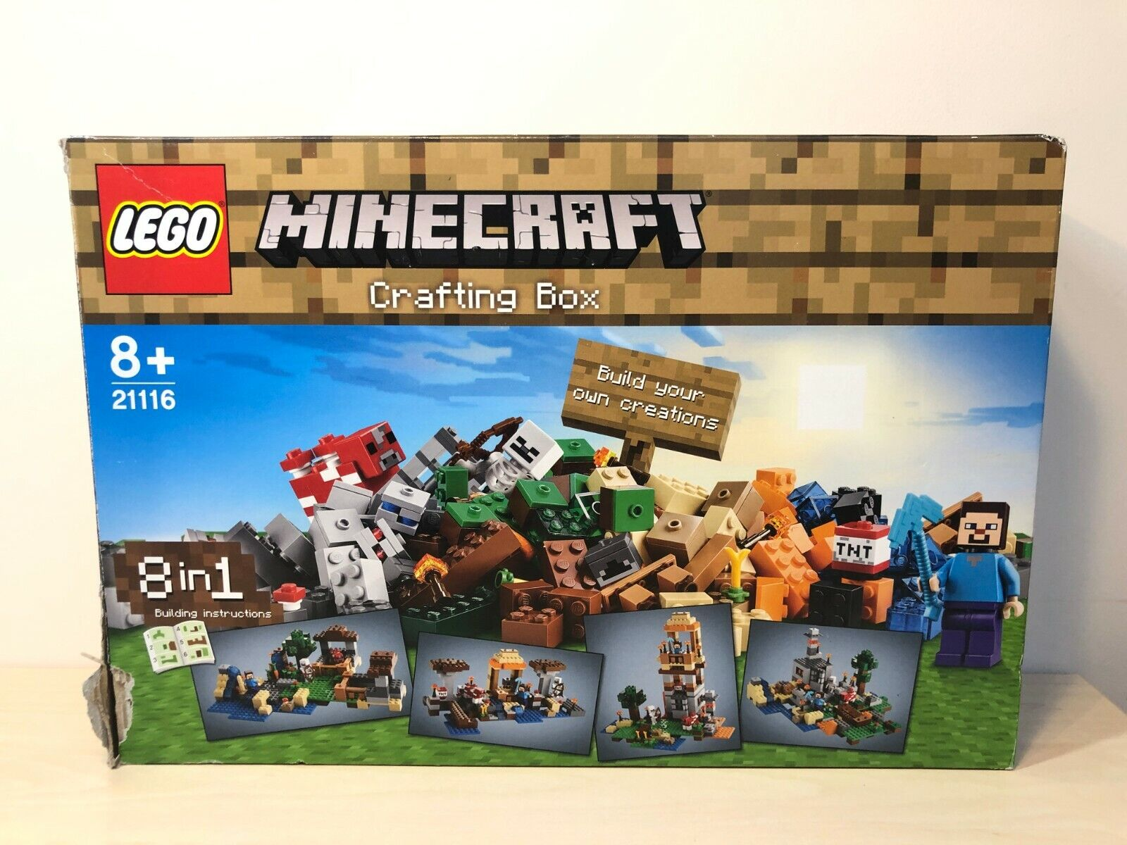 LEGO 21116 MINECRAFT Crafting Box Full complete