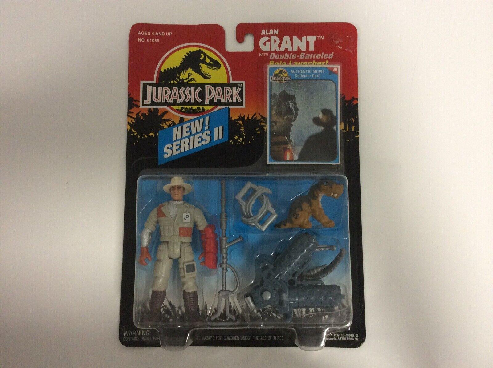 1993 Jurassic Park New  Series II Action Figure - Alan Grant  - MOSC