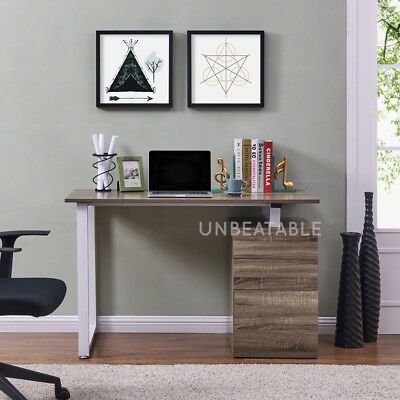 Wooden Computer Desk in Variety of Colours with Drawers Home Office