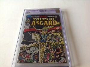 TALES-OF-ASGARD-1-CGC-9-0-WHITE-PAGES-THOR-SQUARE-BOUND-1968-MARVEL-COMICS