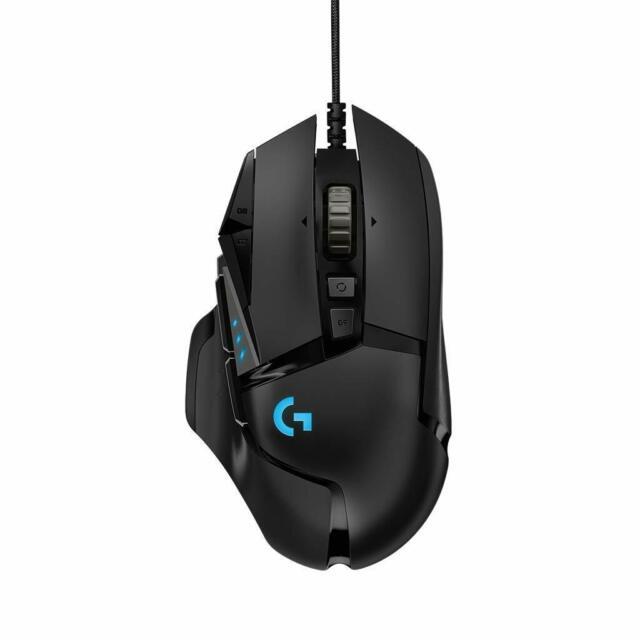 Logitech G502 HERO Gaming-Maus (mit HERO Sensor, RGB, 16.000 DPI, 11 programmier