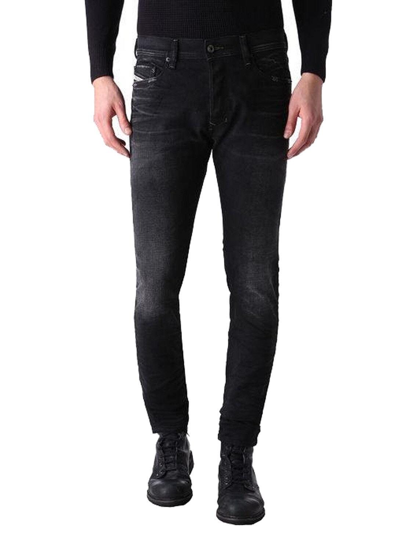 DIESEL TEPPHAR 0666q Uomo Jeans Pantaloni Slim Carrot