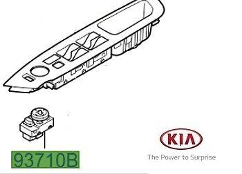 Genuine Kia Sorento 2013-2015 électrique Miroir Ajustement Commutateur 935742P510
