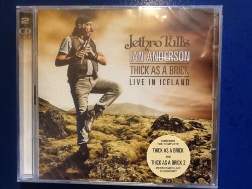 1 of 1 - JETHRO. TULL.      2 CDs.      THICK  AS. A. BRICK.   /.     LIVE. IN. ICELAND.
