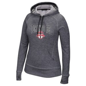 competitive price 0e206 3fc1b Details about Toronto FC MLS Adidas Women's Grey ClimaWarm Team Issue Tech  Fleece Hoodie