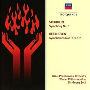 Beethoven-Symphonies-3-5-amp-7-Schubert-Symphony-New-CD-Australia-Import