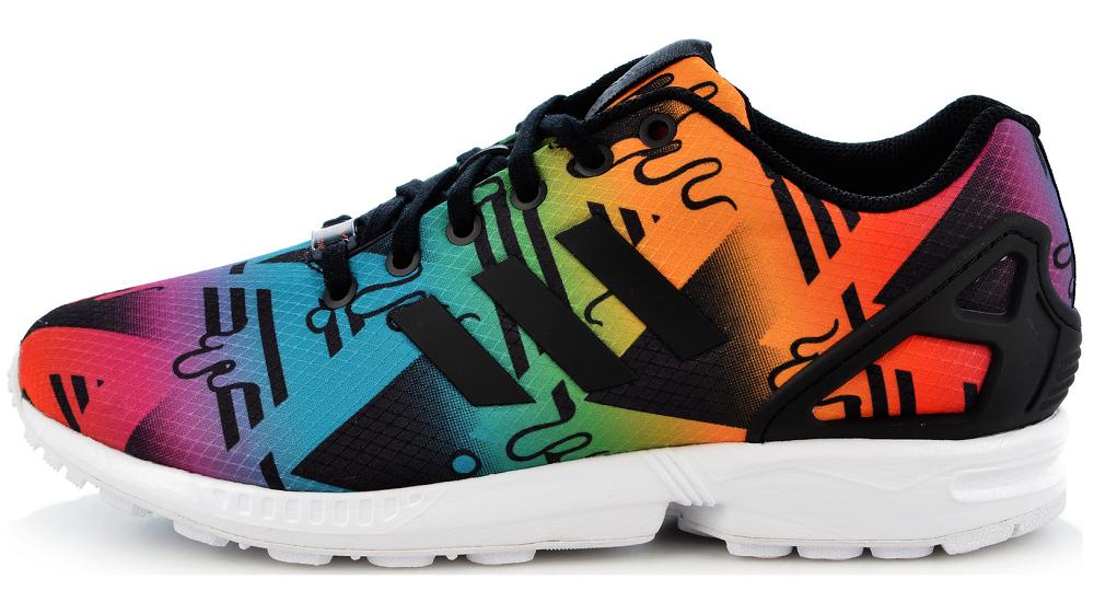 NEU adidas Originals Torsion ZX Flux Turnschuhe Schuhe EU 42 US 8,5 UK 8 S75495 WOW