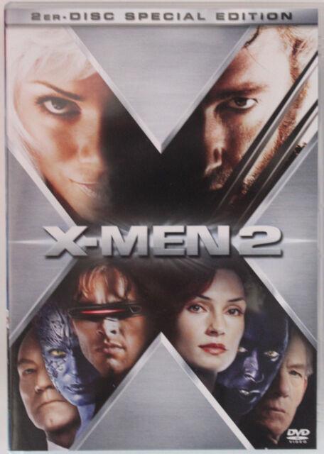 X-Men 2 - Special Edition (2003) 2DVD Hugh Jackman 2er Disc Special Edition