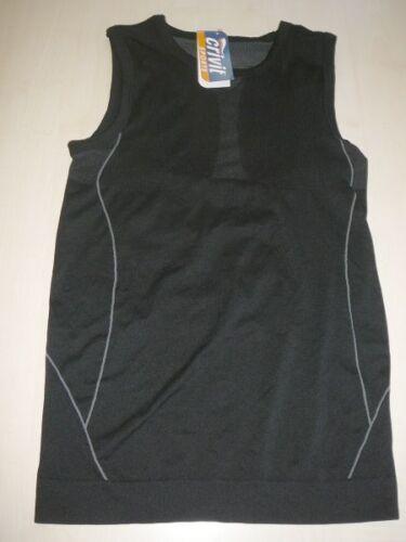 42 schwarz-grau ! M 40 NEU Crivit Sports Damen Trekking Funktions Top Gr