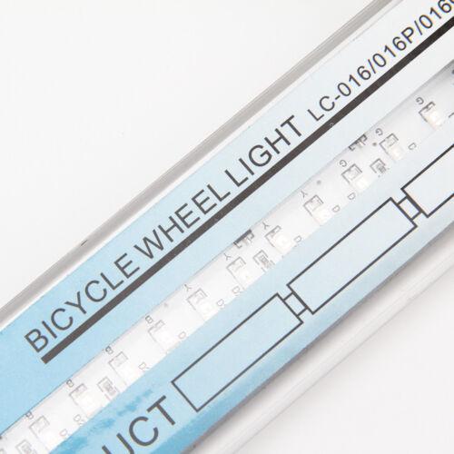 32 String Bicycle Cycling Tire Tyre Safe Flash Lights LED Bike Wheel Spoke Lamp