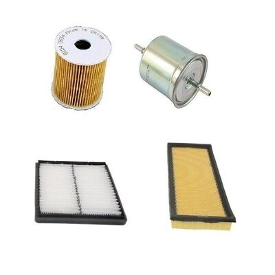 For Lexus LS400 1994-2000 Air Oil Fuel Cabin Filters Tune Up Kit OEM
