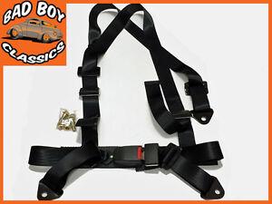 3 / 4 / 5 Point Motorsport Racing Sports Car / 4x4 Seat Belt Harness