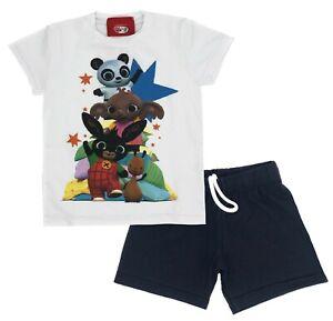 Completo T-shirt con Pantaloncini Coniglietto Bing 2 3 4 5 6 anni...