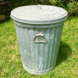 Vintage Garbage Can Lid Interior Design Amp Decorating Ideas