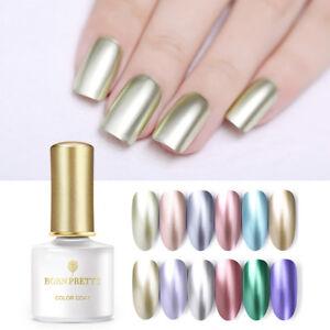 BORN-PRETTY-Nagel-Gellack-Metallisch-Nail-UV-Gel-Polish-Mirror-Soak-Off-Nail-Art
