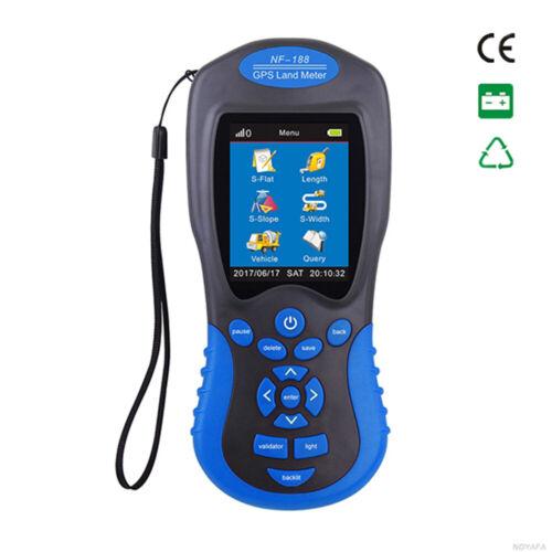 NF-188 GPS Land Meter Area Surveying Instrument GPS Surveyor Land Test Devices