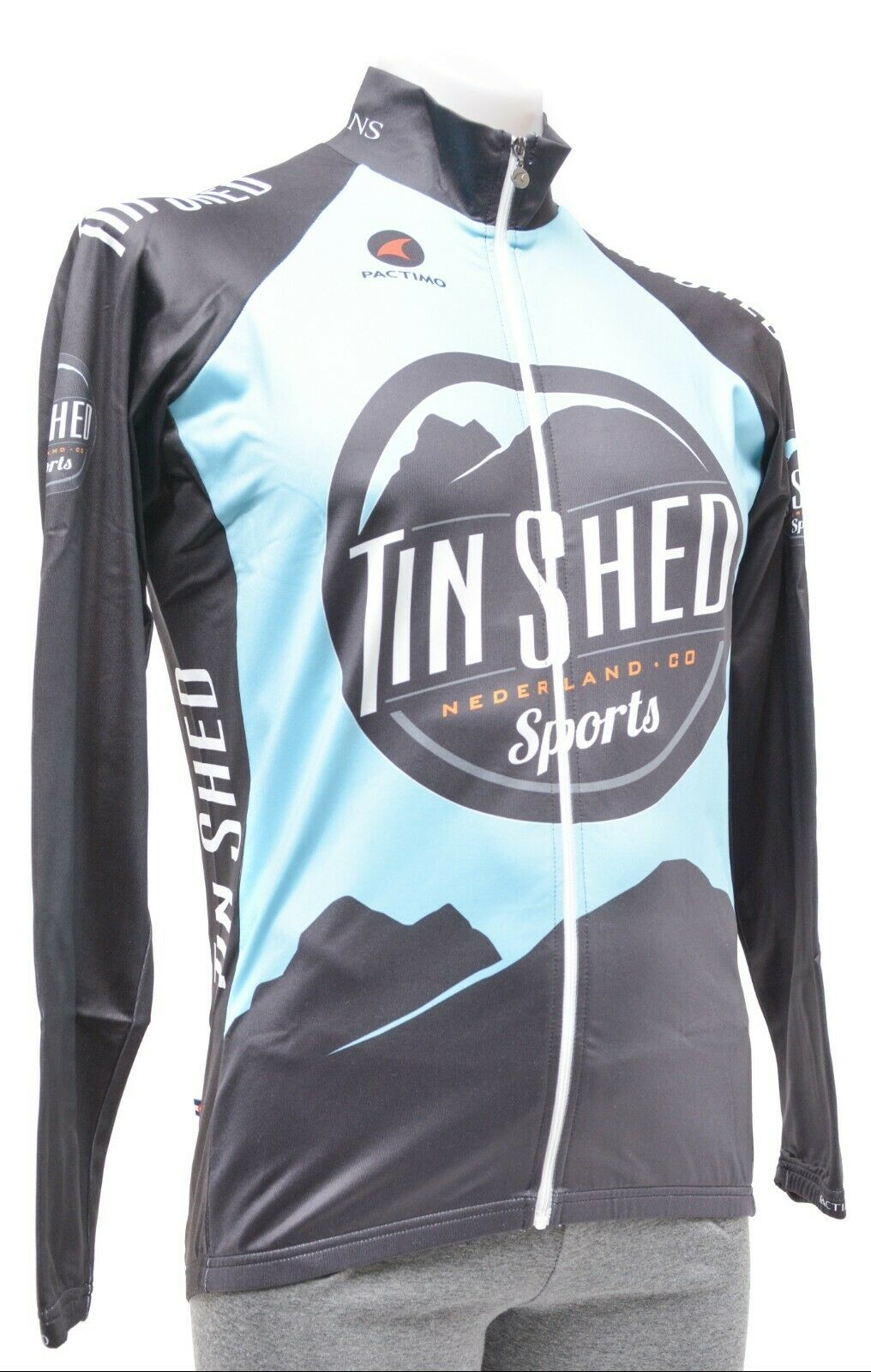 Pactimo Tin Shed  Long Sleeve Cycling Jersey + Wind Vest Men S M XL 2XL Road MTB  free shipping!