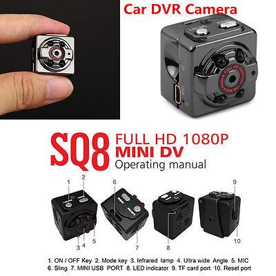 Mini Full 1080P Cam Sport DV Spy Hidden Motion Detector Night Vision Camera