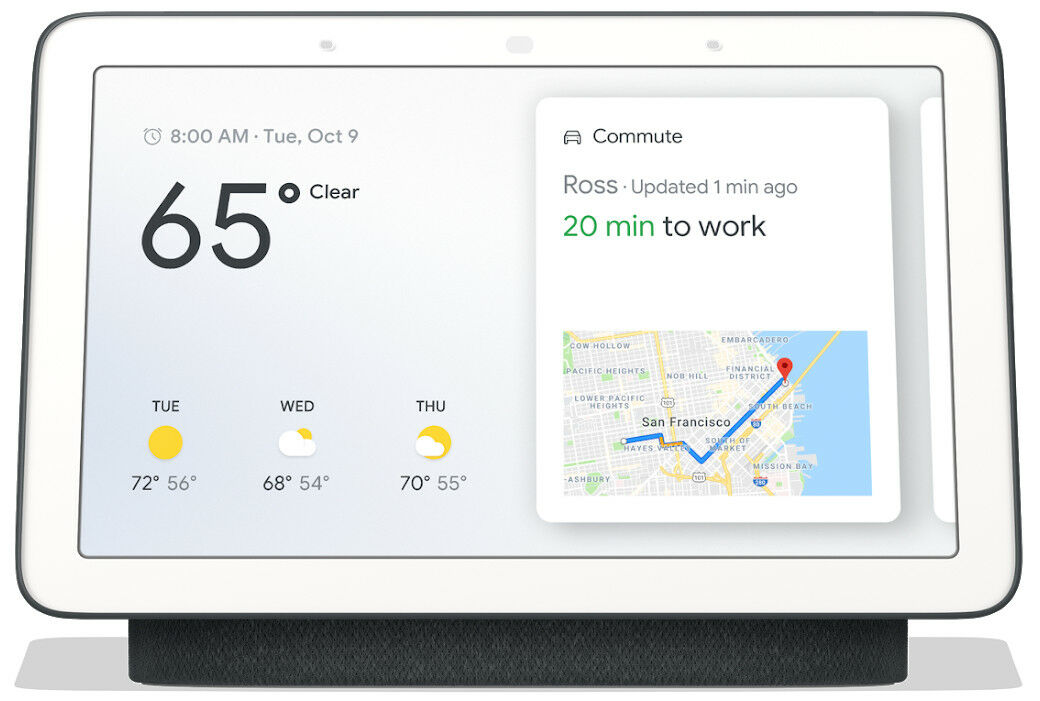 Google Home Hub - Charcoal SEALED