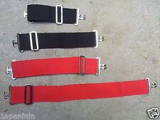 pair Buckle Surcingle or Double Vel Cro Horse Rug Neck Extenders Loop