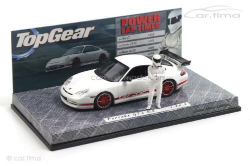 996 Top Gear Power Laps GT3 RS Porsche 911 Weiß // rot Minichamps 1:43
