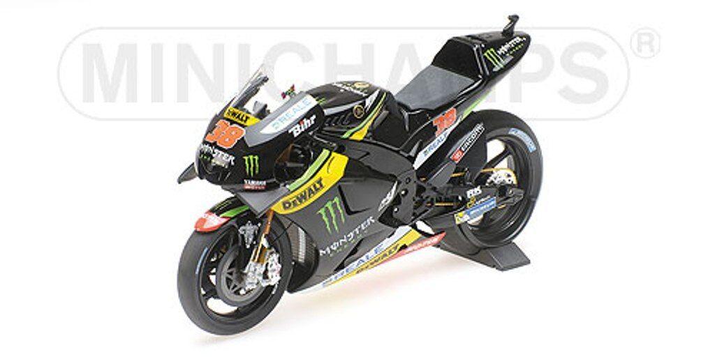 MINICHAMPS 122 163038 YAMAHA YZR M1 model bike Tech 3 B Smith MotoGP 2016 1 12th