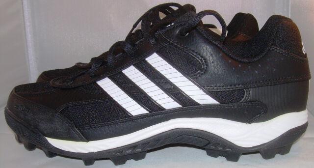 ADIDAS FOOTBALL CHAUSSURES Corner Blitz 7 MD Low US 11 EUR 45 Black, NEUF