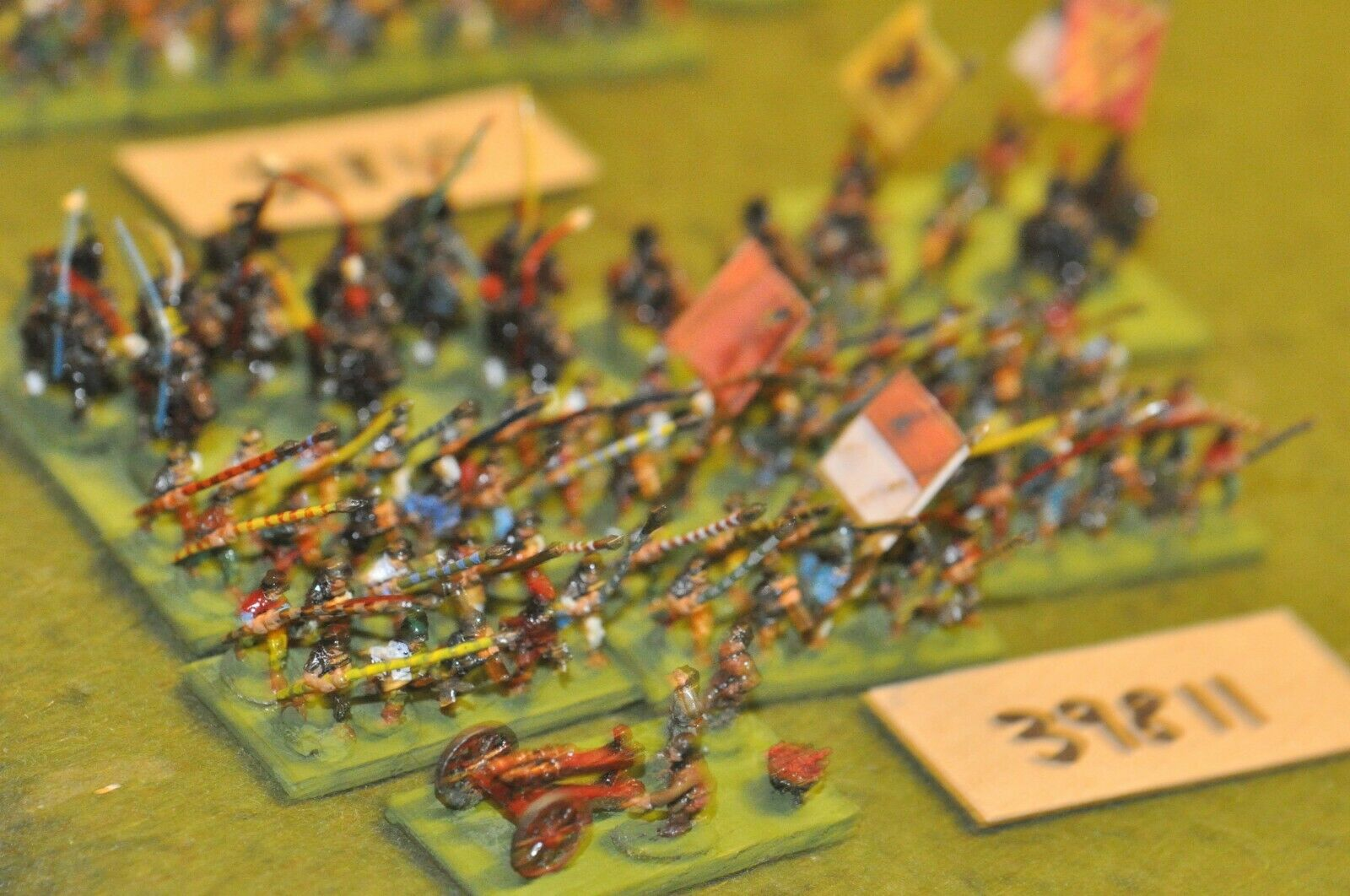 10mm medieval   swiss - battle group (as photo) - inf (39811)