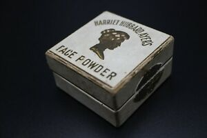 RARE-ANTIQUE-HARRIET-HUBBARD-AYER-FACE-POWDER-MAKEUP-BOX