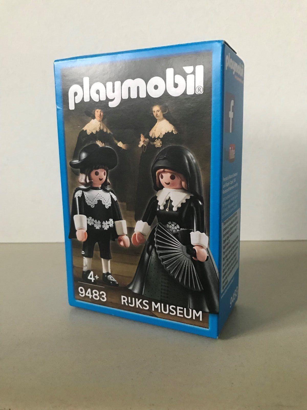 10 X Playmobil 9483 Marten en Oopjen Rembrandt van Rijn MISB new rijksmuseum