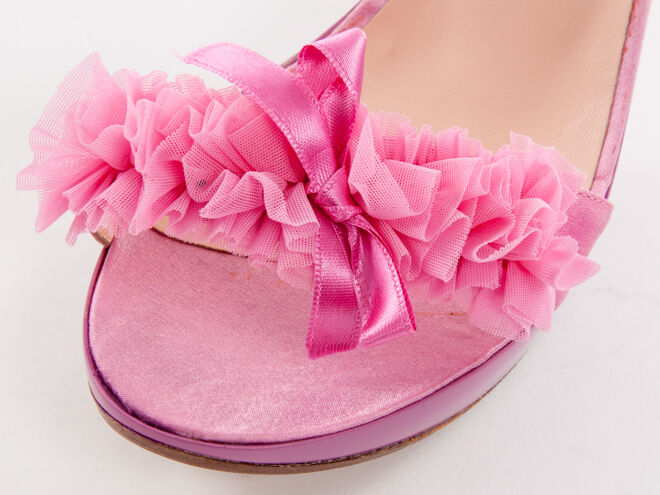 Nouveau la la la plage en cuir rose made in italy sandales taille 39 US 9 0b2ec8