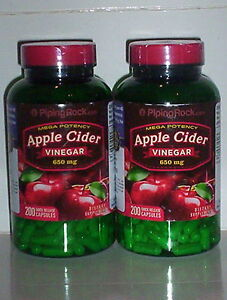APPLE CIDER VINEGAR 650MG WEIGHT FAT LOSS PURE DIET PILLS