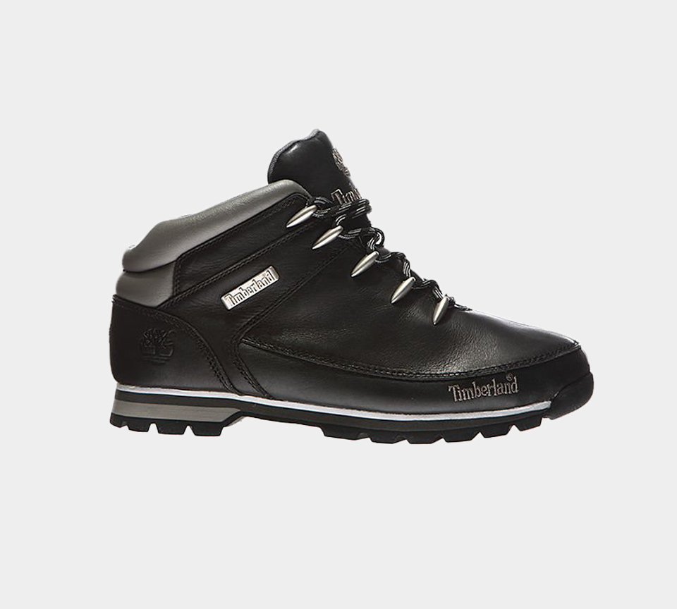 TIMBERLAND EURO SPRINT HIKER BLACK SMOOTH MEN'S 6200R UK 7-11