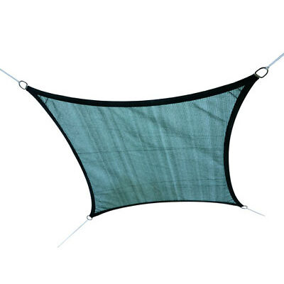 Sun Shade Sail Canopy Patio Garden Awning Shelter With Free Rope 4 Sizes