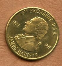 COINS / 4 ° PRESIDENT OF AMERICA / USA / JAMES MADISON