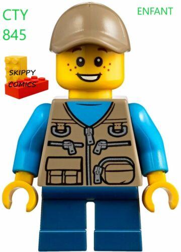 filet à papillon//butterfly net 60182 CTY 845 Enfant //child camper Lego