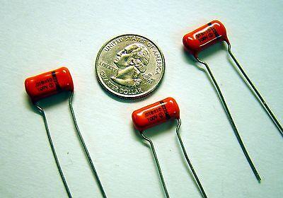 Lot of 10 .018uf 100V 10/% Sprague 225 Orange Drop Capacitor