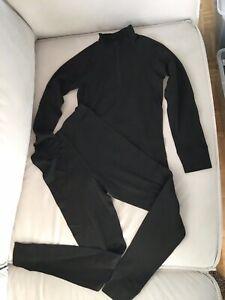 Kinder Thermo Unterwäsche Funktionswäsche Ski Wäsche Unterhose Langarmhemd Tshit