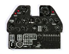 P-40 E KITTYHAWK PHOTOETCHED, 3D, COLORED INSTRUMENT PANEL #4814 1/72 YAHU