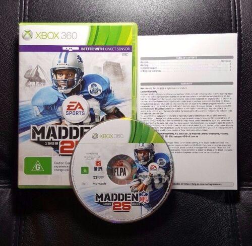 1 of 1 - Madden NFL 25 (Microsoft Xbox 360, 2013) Xbox 360 Game - FREE POST