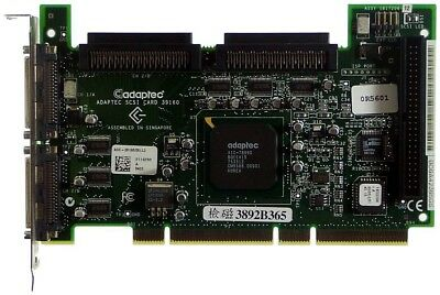 Inteligente Adaptec Asc-39160/dell Scsi Pci-x [9072]- Prestazioni Affidabili